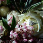 Bride's gorgeous wedding ring