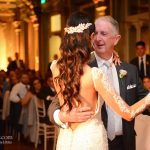 Father of the bride dances with his daughter